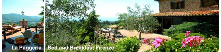Bed and Breakfast Firenze La Paggeria