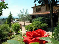 Garden bed and breakfast Florence La Paggeria